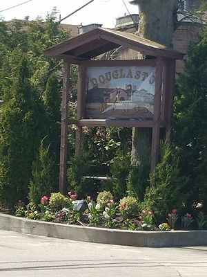 Douglaston Park - Image: Douglaston Park Manor Sign