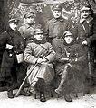 Dowództwo ochotniczego oddziału braci Dąbrowskich - luty 1919 rok.JPG