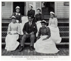 Carlos Montezuma - Dr. Montezuma served as resident physician at the Carlisle Indian School from 1895-1897.