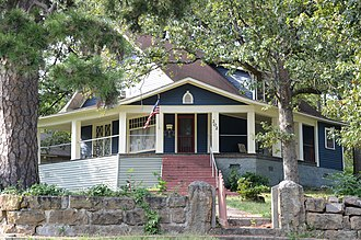 National Register of Historic Places listings in Cleburne County, Arkansas - Image: Dr. Cyrus F. Crosby House