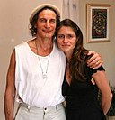 Dr. Gabriel Cousens and raw foodist Ursula Jahara.jpg