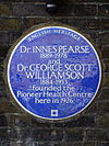 Dr. INNES PEARSE 1889-1978 and Dr. GEORGE SCOTT WILLIAMSON 1884-1953 founded the Pioneer Health Centre here in 1926.jpg