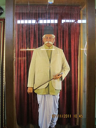 K. B. Hedgewar - Hedgewar Statue at the RSS office in Nagpur