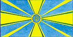 Draft Flag of the Ukrainian Air Force 1990.png