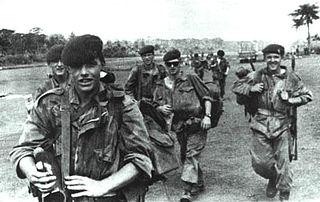 1st Parachute Battalion (Belgium) 1946-2011 unit of the Belgian Army