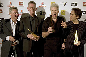 Dragon (band) - Dragon at ARIA Hall of Fame Melbourne Town Hall, 1 July 2008 L–R: Kerry Jacobson, Rob Taylor, Todd Hunter, Alan Mansfield