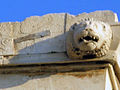 Drain in a lion's head on the entablature of the Parthenon.jpg