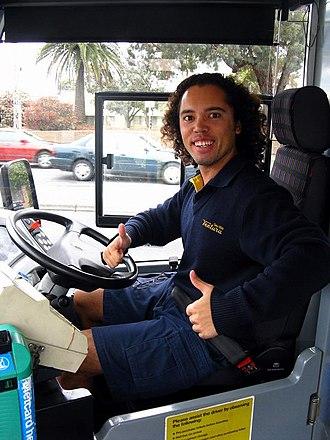 Bus driver - A Bus Driver for Ventura Bus Lines in Melbourne, Australia