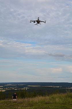 Dronare anses vara kameraovervakning