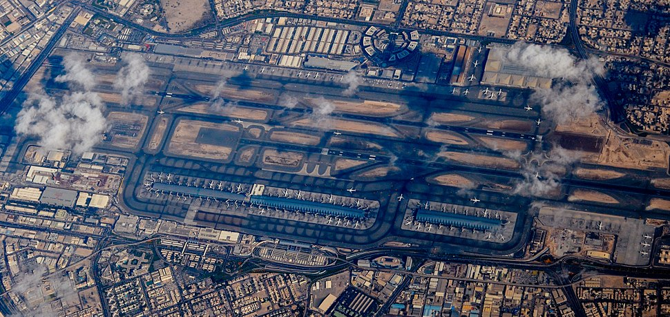 Dubai Airport overview