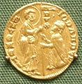 Duc ato d'oro di giovanni dandolo, doge di venezia, 1279-89.JPG