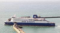 Dunkerque Seaways - DFDS Seaways - quitter le port de Douvres-4085.jpg