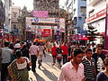 Durga Puja Spectators - Ekdalia Evergreen - Kolkata 2011-10-03 00680.jpg