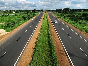National Highway (India) - Durgapur Expressway near Kolkata