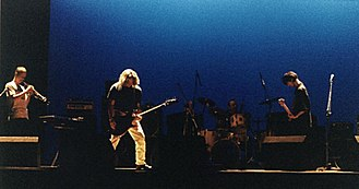 The Durutti Column - Performing at Teatro de Gil Vicente, Coimbra, Portugal in 1995