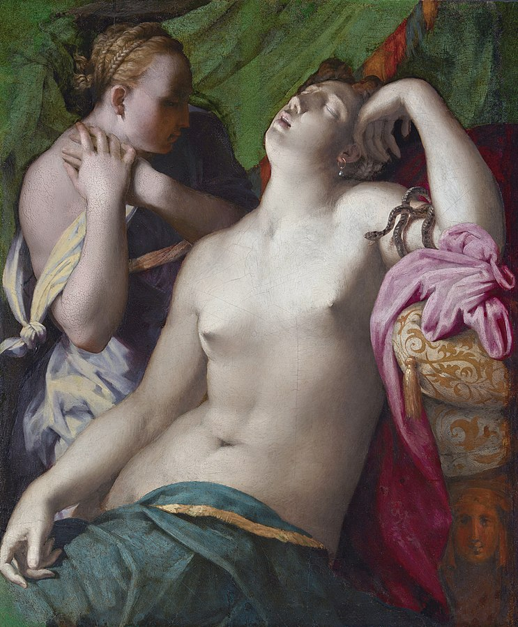 Dying Cleopatra