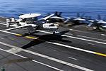 E-2C Hawkeye lands aboard USS John C. Stennis DVIDS123583.jpg