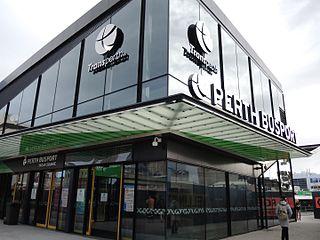 Perth Busport Underground bus station in Perth, Western Australia
