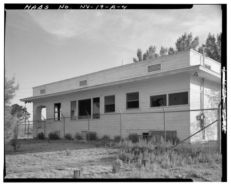 File:EAST SIDE - Kiel Ranch, Park Mansion, 200 West Carey Avenue, North Las Vegas, Clark County, NV HABS NEV,2-NOLAV,1A-4.tif