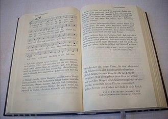 Evangelisches Gesangbuch - Image: EG218