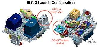 STS-134 - ELC-3 in its launch configuration