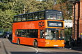 EOS London (Swallow Coaches) 102 on Route 66, Epping Station (15651387531).jpg