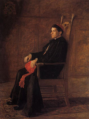 Sebastiano Martinelli - Portrait of Cardinal Sebastiano Martinelli by Thomas Eakins (1902)