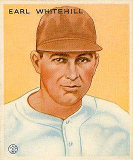 Earl Whitehill American baseball player