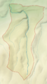 East Okement River map.png