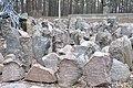 Ebreju masu kapa vieta Rumbulas mežā (vairāk kā 26000 cilvēku) WW2, Rumbula, Rīga, Latvia - panoramio (12).jpg