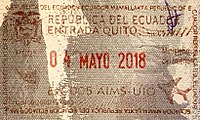 Ecuador Entry Passport Stamp, 2018.jpg