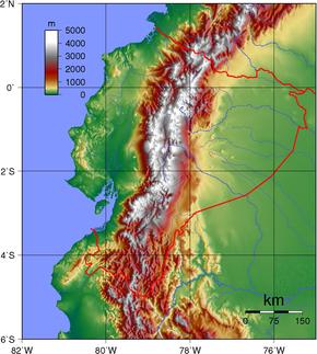 Géographie de l'Équateur — Wikipédia