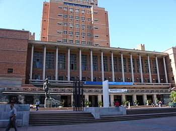 Edifcio de la Intendencia Municipal de Montevideo