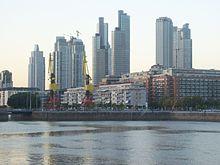 Ruas Puerto Madero - Buenos Aires 220px-Edificios_de_Puerto_Madero_al_anochecer_1