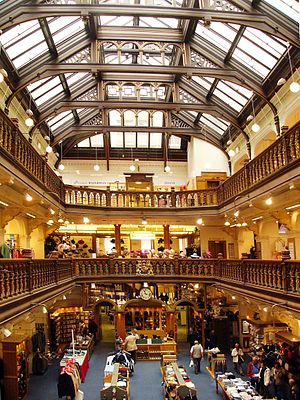 Jenners - The grand hall of Jenners