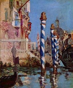 Edouard Manet - Grand Canal à Venise (1874)