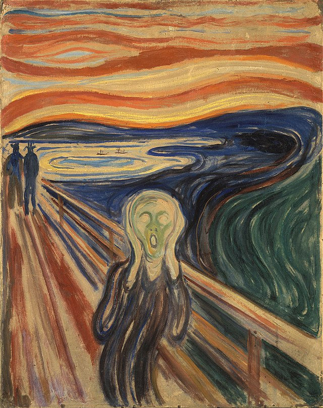 From commons.wikimedia.org: Edvard Munch - The Scream - Google Art Project {MID-175291}