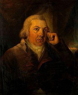 Edward Jenner. Oil painting. Wellcome V0017944