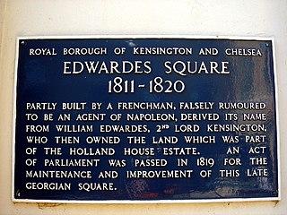 William Edwardes, 2nd Baron Kensington Irish Baron