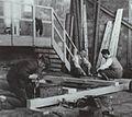 Eerste nederlandse lier in aanbouw amsterdam 1933.jpg
