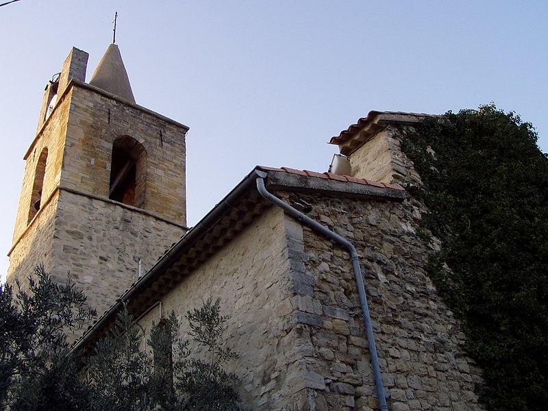 The church of Pierrevert