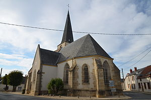 Baugy, Cher - The church in Baugy