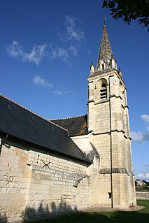 La Roche-Clermault Commune in Centre-Val de Loire, France