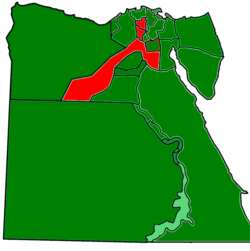 Egypt governorates Constitutional Ref 2012.png