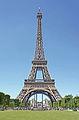 Eiffel Tower from Champ-de-Mars, Paris 2014.jpg