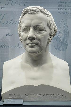 Eilhard Mitscherlich - Marble bust of Mitscherlich by Elisabet Ney at the Museum für Naturkunde in Berlin