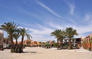 El Gouna town in Egypt