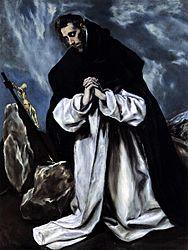 El Greco: St Dominic in Prayer