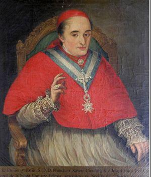 Francisco Javier de Cienfuegos y Jovellanos - Image: El cardenal Francisco Javier Cienfuegos Jovellanos (Universidad de Sevilla)