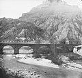 El pont de la Coromina i el riu Cardener amb el castell de Cardona al fons (cropped).jpg